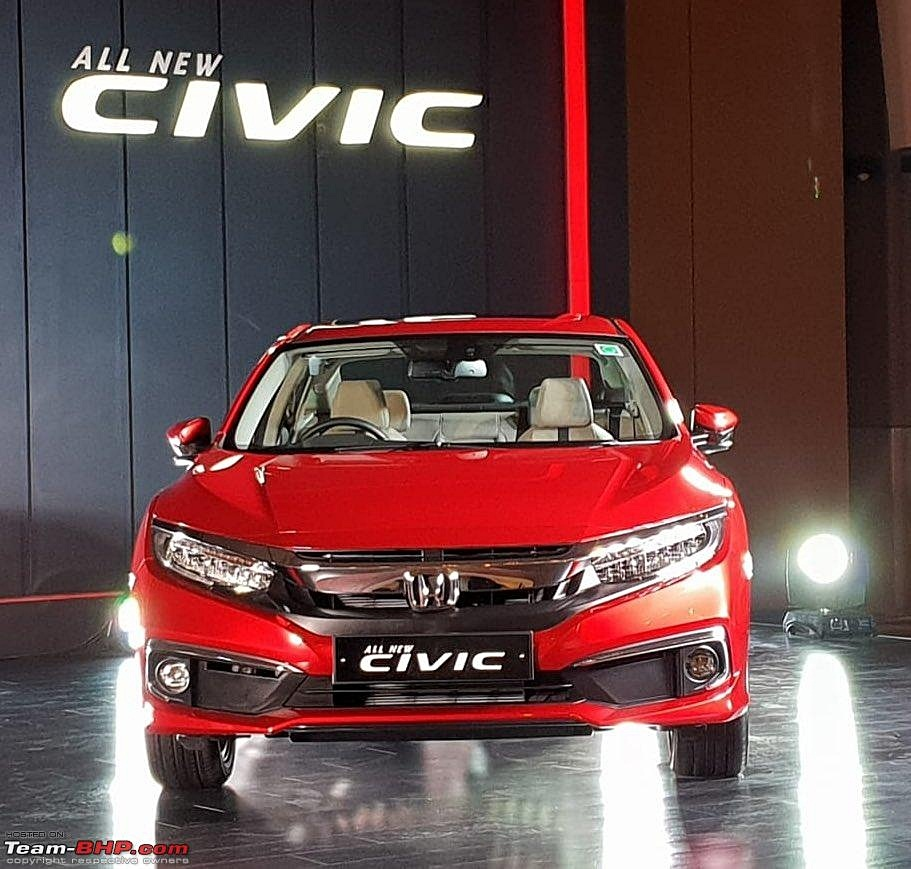 Preview New Honda Civic 2019 Launch Today: Honda Civic 2019 Spied In India