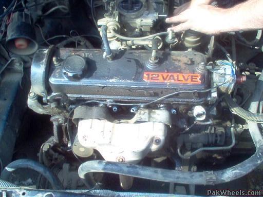 engine swap 2e l to 5a fe finally done mechanical electrical rh pakwheels com toyota 5afe engine manual toyota 5afe engine manual