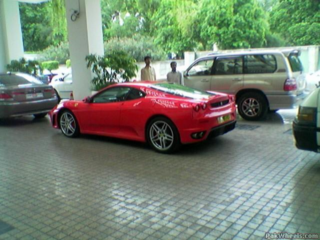 Lovely Ferrari F430 In Pakistan   New Pics Awesome Ideas
