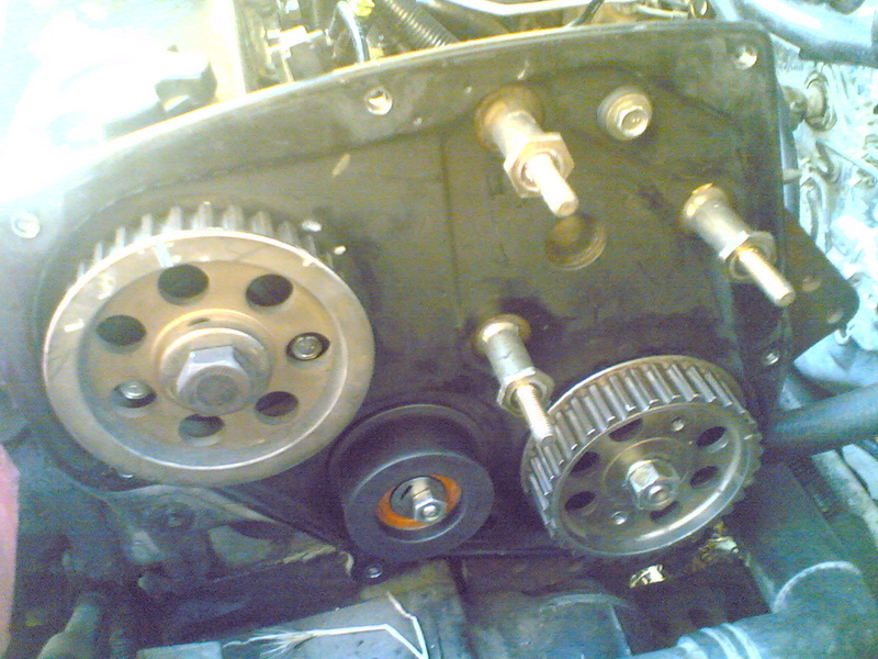Swap electronic diesel pump with mechanical on CD20E