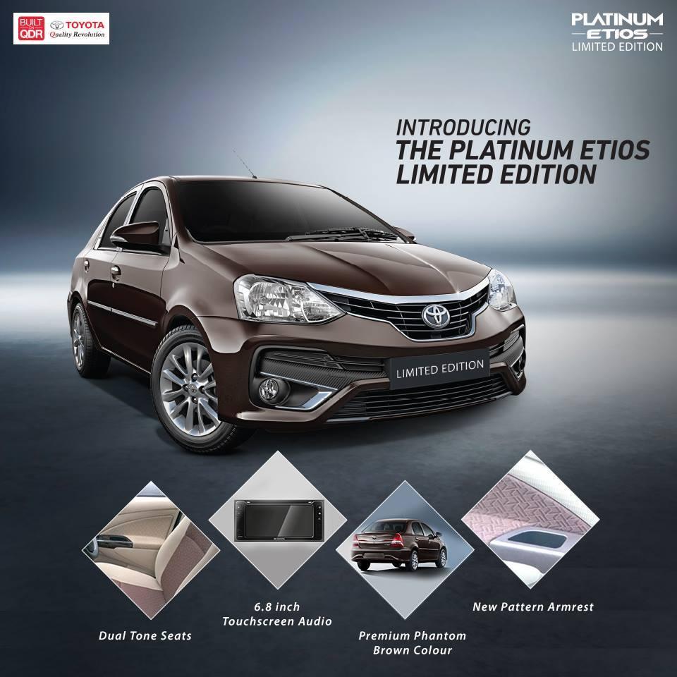 Special Platinum: Introducing The Toyota Platinum Etios Limited Edition
