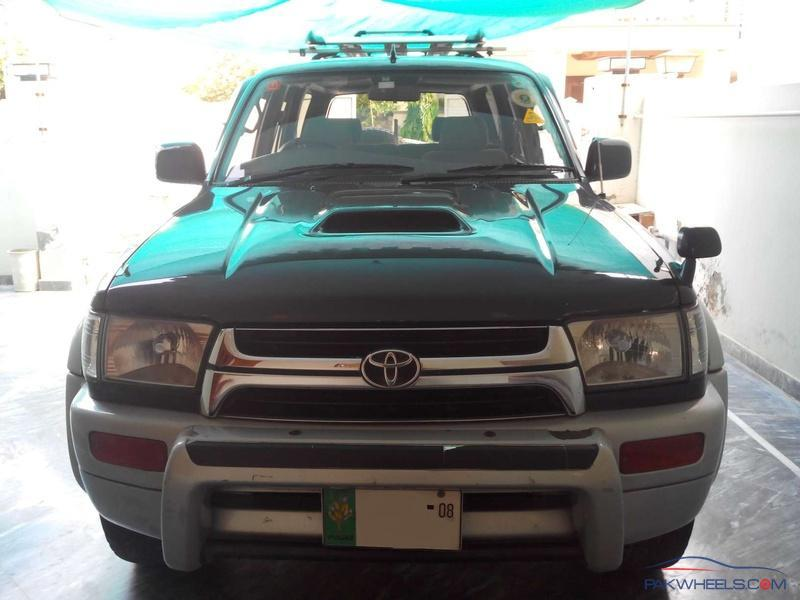 Toyota Hilux Surf SSR-G 3 0 Diesel With Intercooler-Top of
