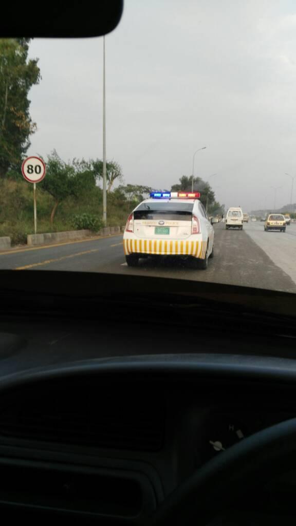 Islamabad Police got new Corolla patrol cars - Wheels