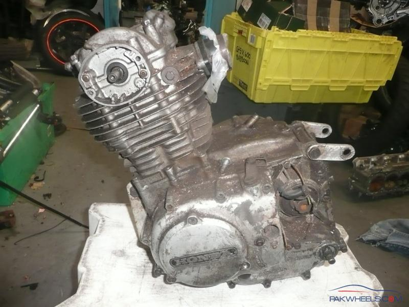 honda cg engine swap xl engine  cg general motorcycle discussion pakwheels forums