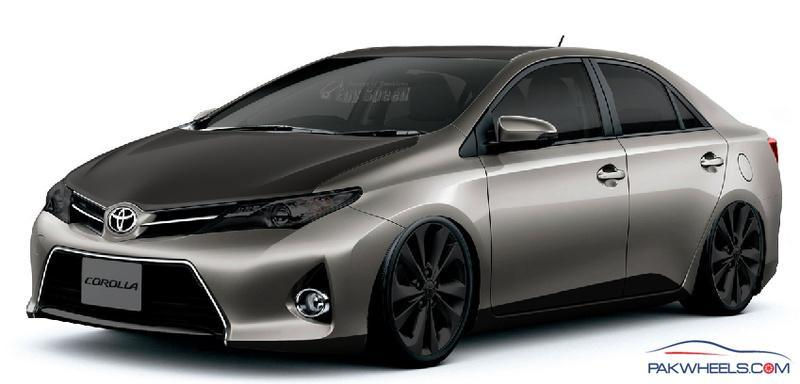 Virtual Tuning Of 2014 Toyota Corolla By Me Rate It Plz
