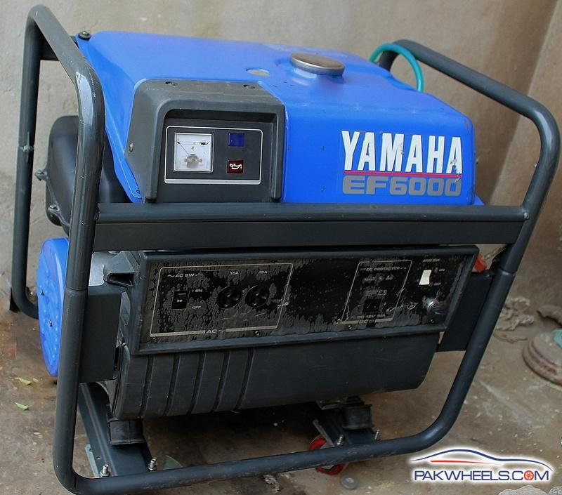 Yamaha 5kva generator ef 6000 for sale non auto related for Yamaha generator for sale