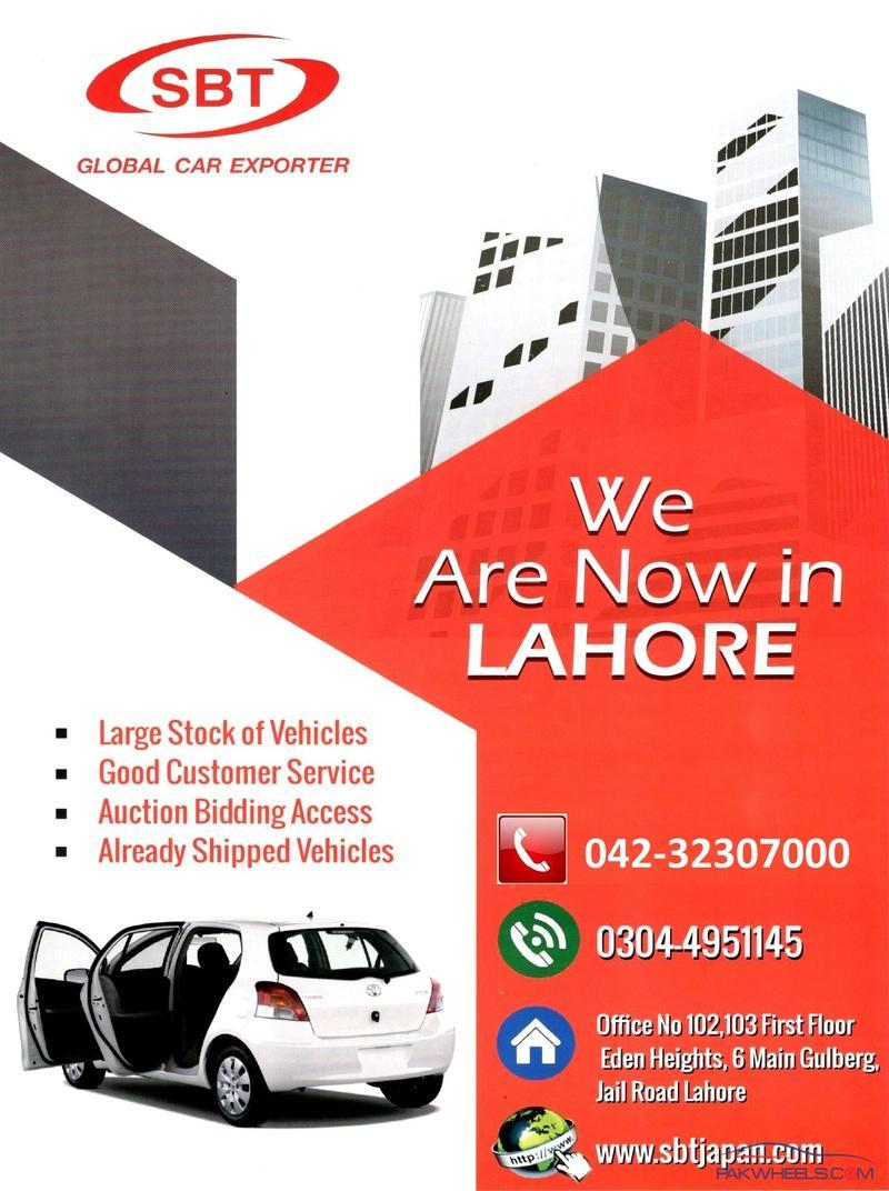 Sbt Japan Japanese Car Exporter Now In Lahore General Car Discussion Pakwheels Forums