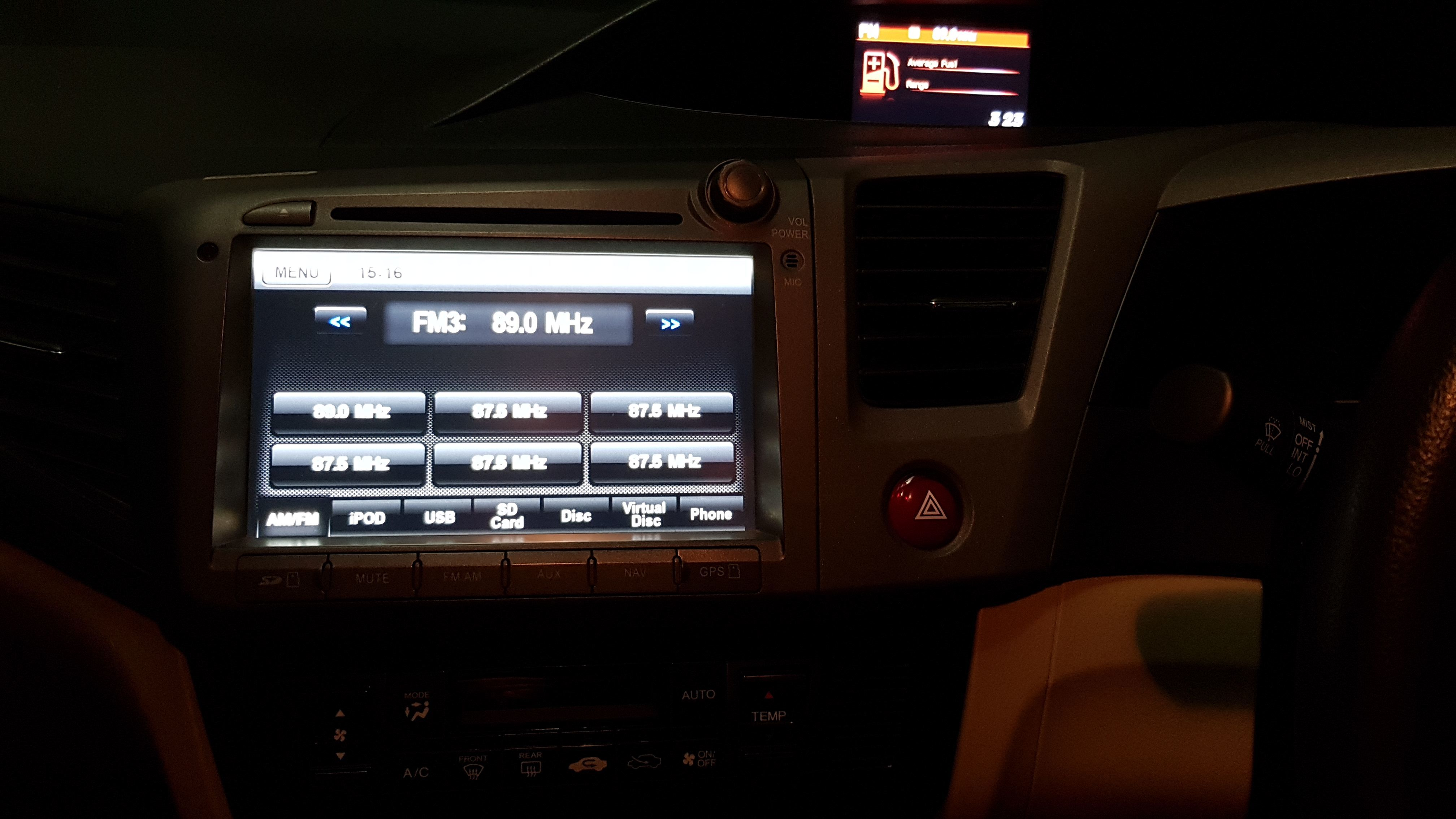 Honda LCD Screen Stuck After Inserting CD into built in Player - Honda - PakWheels Forums