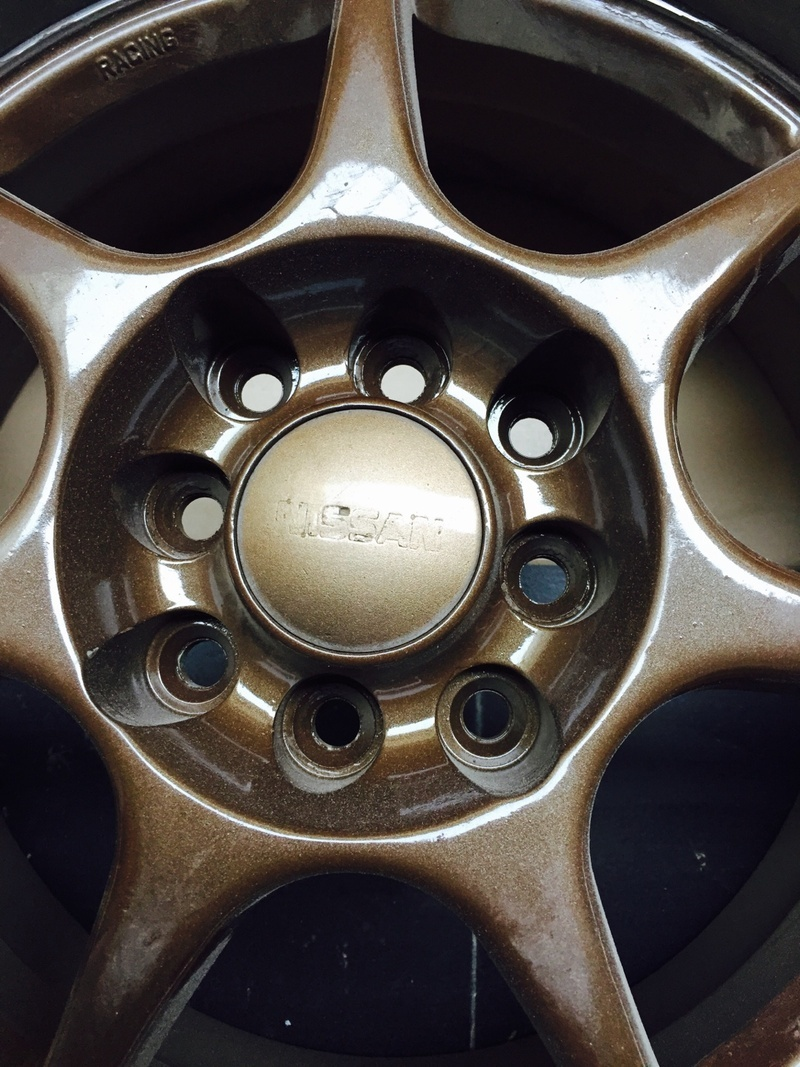 I Was Given Reference Pic Of Rims And Received A Different Set Its Color Is Some Shade Bronze With Multi Pcd Not As What