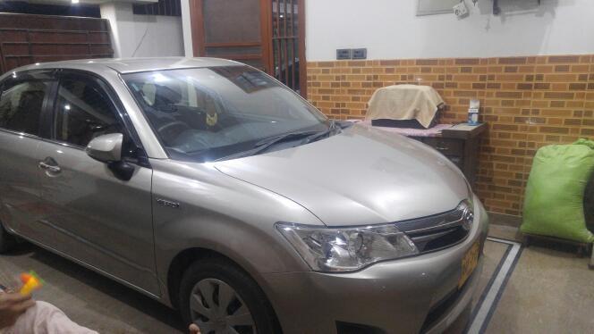 My Toyota Axio Hybrid Alhamdulillah - Members / Member Rides