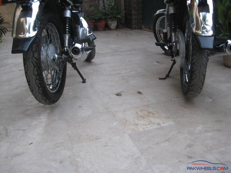 Right tyre size for Suzuki GS 150 - Suzuki Bikes - PakWheels Forums