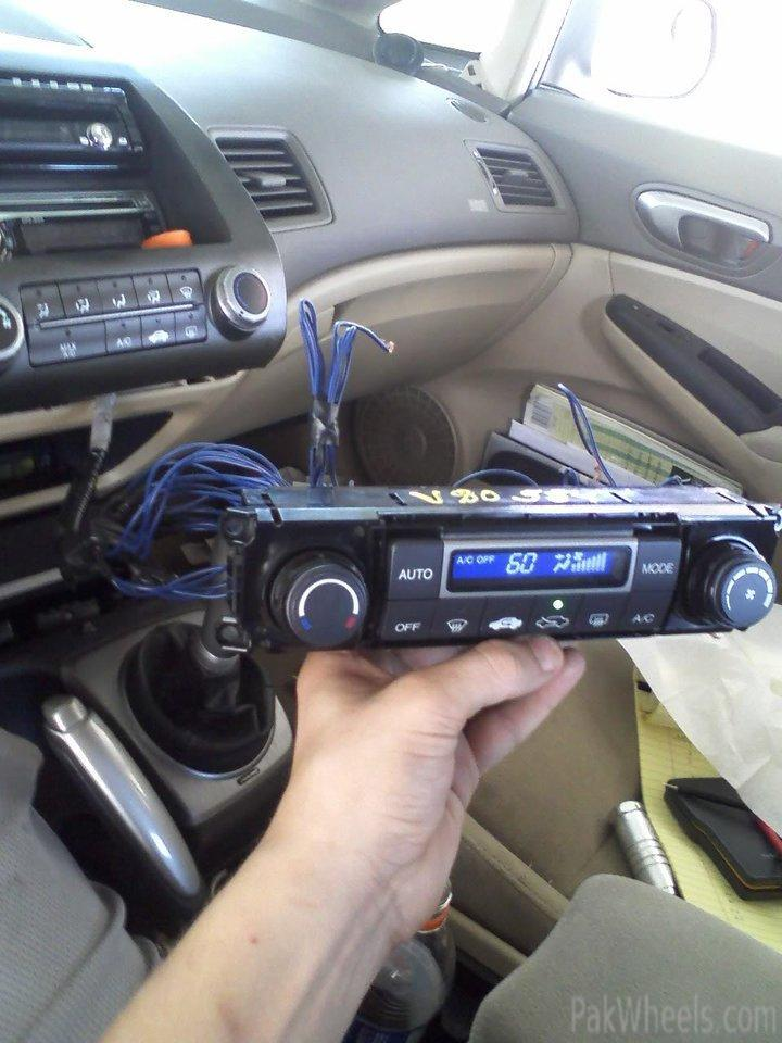 Honda Civic 8th Gen Auto Climate Control And Other Miscl