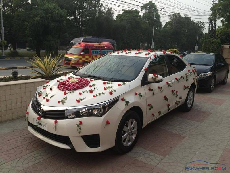 Car on wedding spotting hobbies other stuff for Auto decoration in pakistan