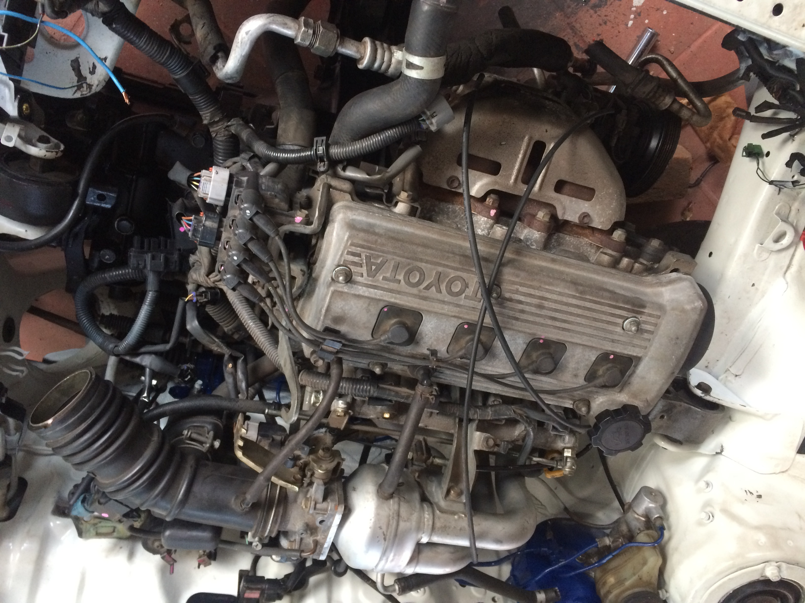 Toyota Starlet Gt Ep91 Paseo 13l Turbo Twin Cam Engine Wiring Ecu Map