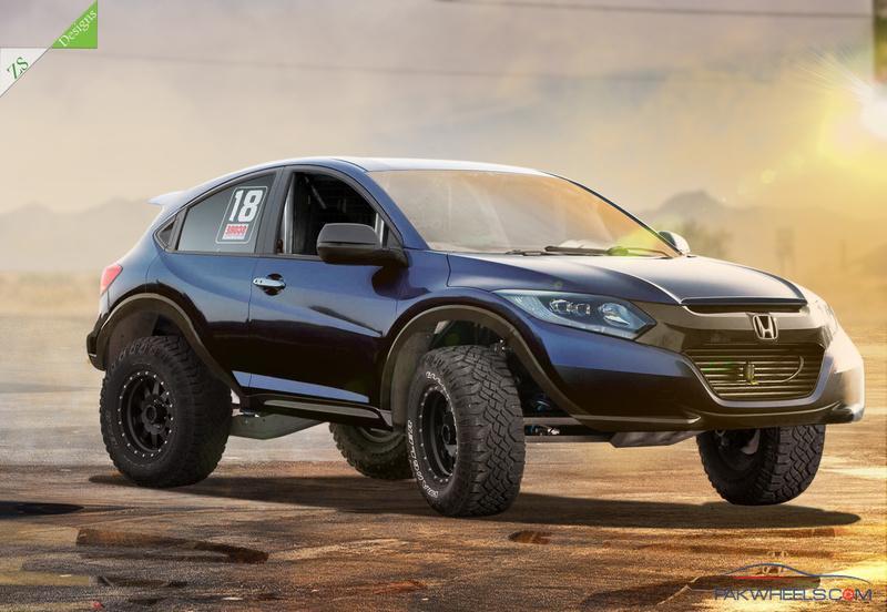 Offroader Honda Vezel - Spotting / Hobbies & Other Stuff ...