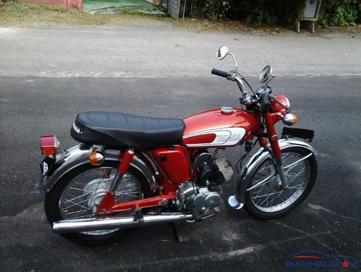 Restoring Yamaha 100cc (YB100, model:1980) - Yamaha Bikes ...  Restoring Yamah...