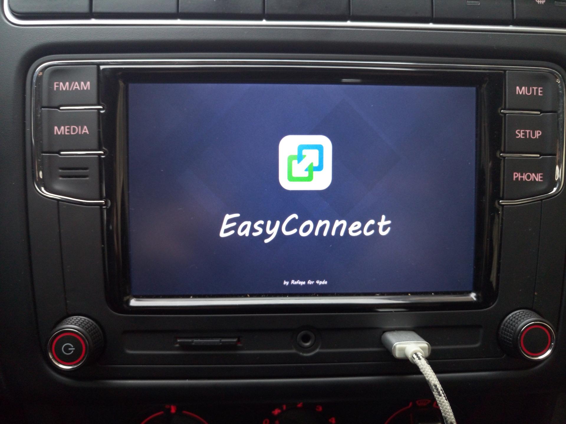 EasyConnected(ENG) - Screen Mirroring / Mirror-Link Windows CE