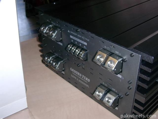 worlds biggest car amp        15000 watts  - in-car entertainment  ice