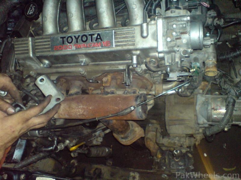3sge-engine swap in corolla Altis by Airborn club! - D I Y Projects