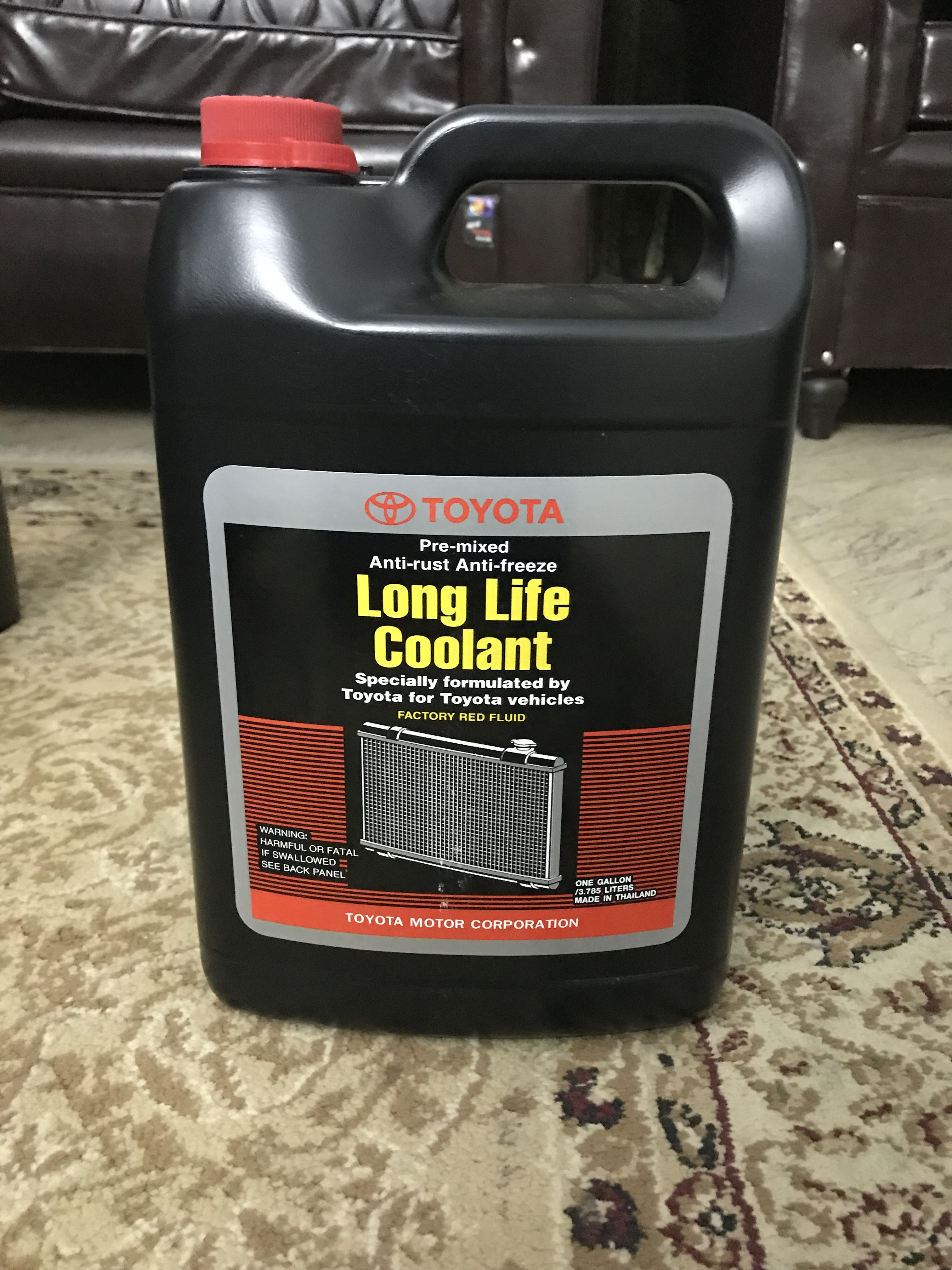 Difference between these Toyota Super Long Life coolant