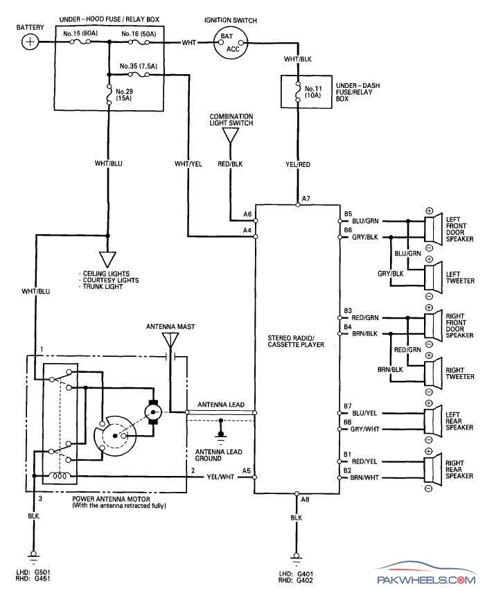 Power Antenna Wiring Diagram from fcache1.pakwheels.com