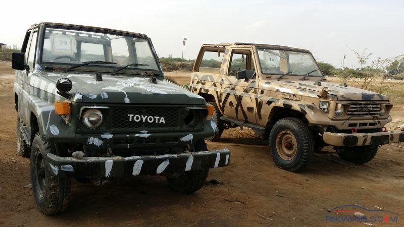 Army Auctioned Land Cruiser 1987-91 are Selling On Super