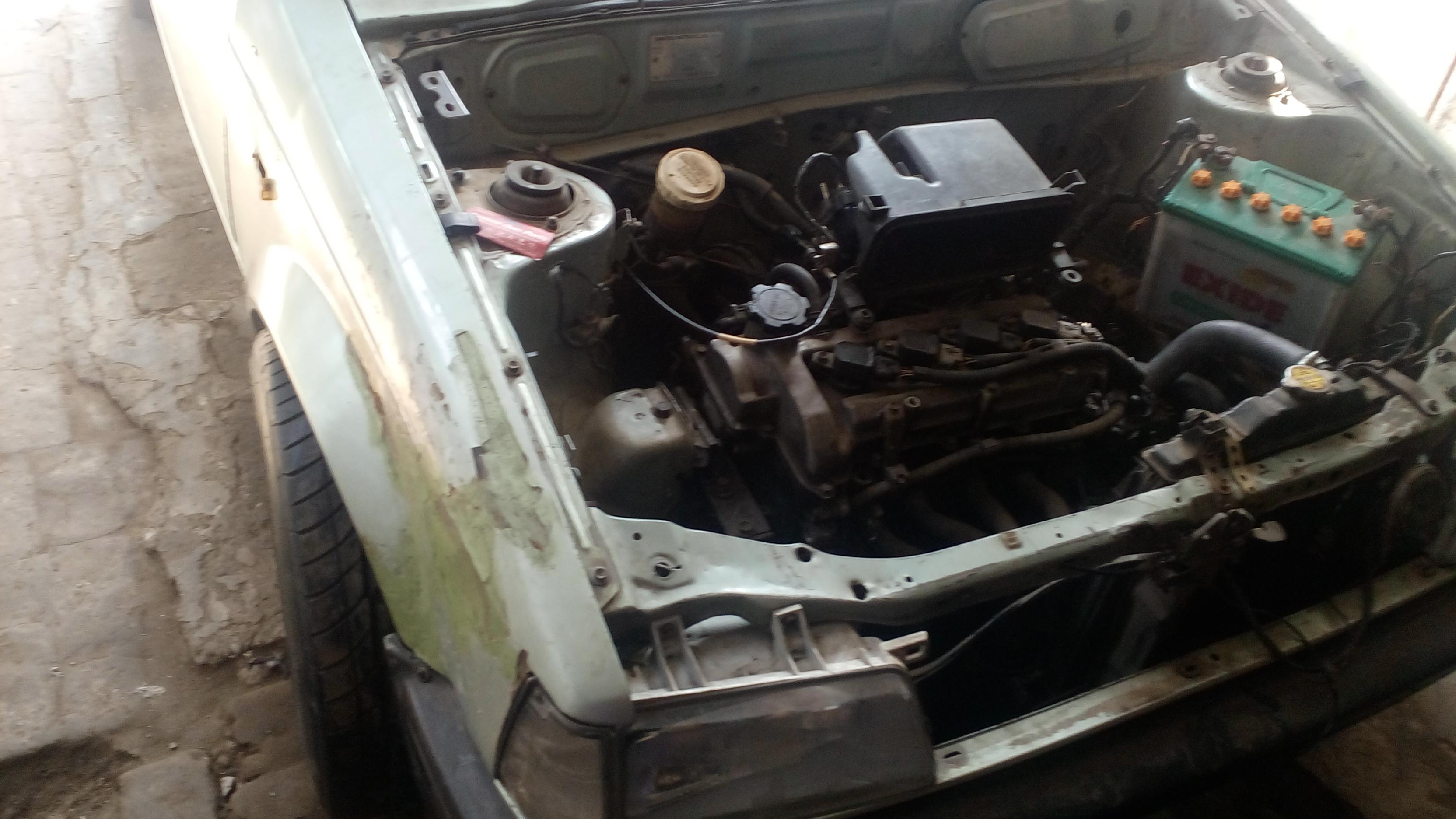 Charade 1985 vitz engine swap modified - Charade - PakWheels Forums