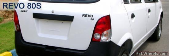 Revo of Pakistan's own Adam Motor Company (The Sole Pakistani Branded Car meker, yet).