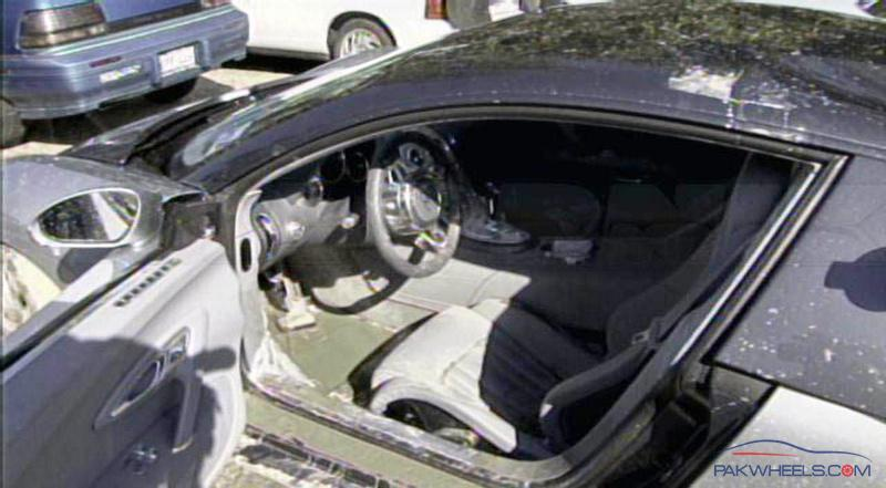 Bugatti veyron lake