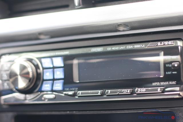 FS: 3 Way Active HU - Apline CDA 9887 - Car Parts