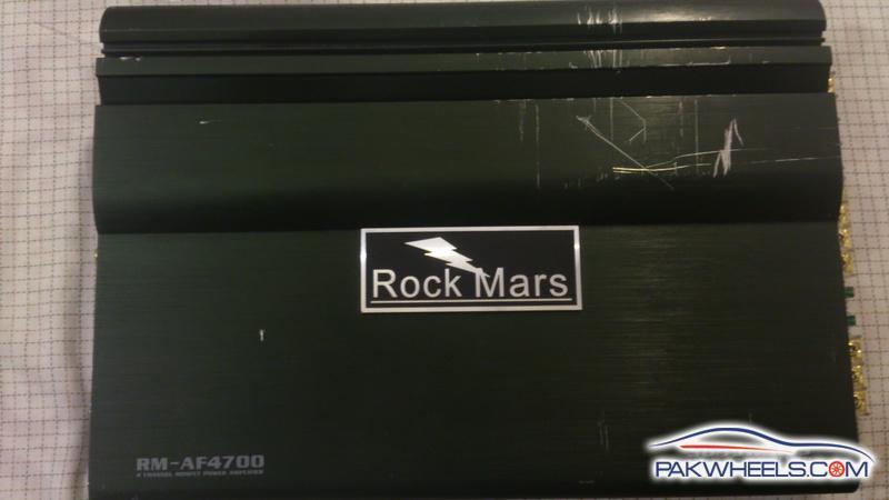 FS: Rock Mars 4- channel amplifier - Car Parts - PakWheels