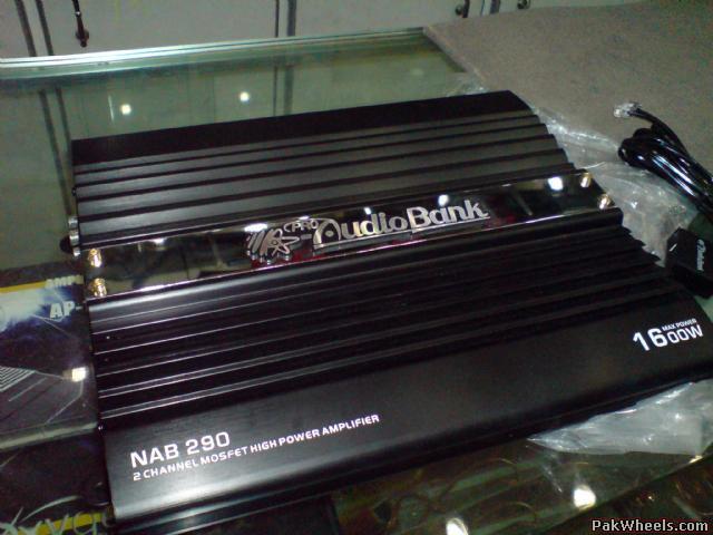 Amp For Sale Audio Bank Nab 290 Car Parts Pakwheels Forums