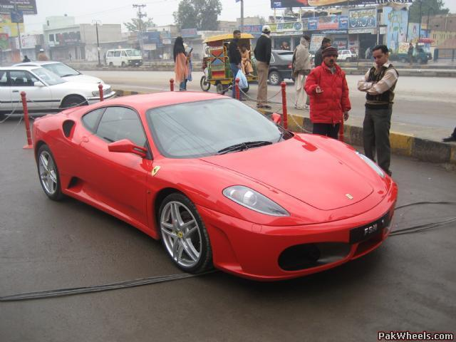 Confusion About Ferraris In Pakistan,! Nice Look