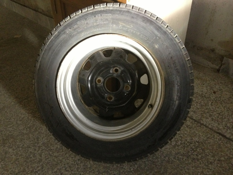 """Sell Car For Parts >> FS: Stretched 13"""" steel rims with tyres (old school) - Car Parts - PakWheels Forums"""