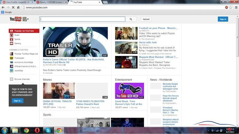 Finally YOUTUBE is now Open in Pakistan! What Do You Say