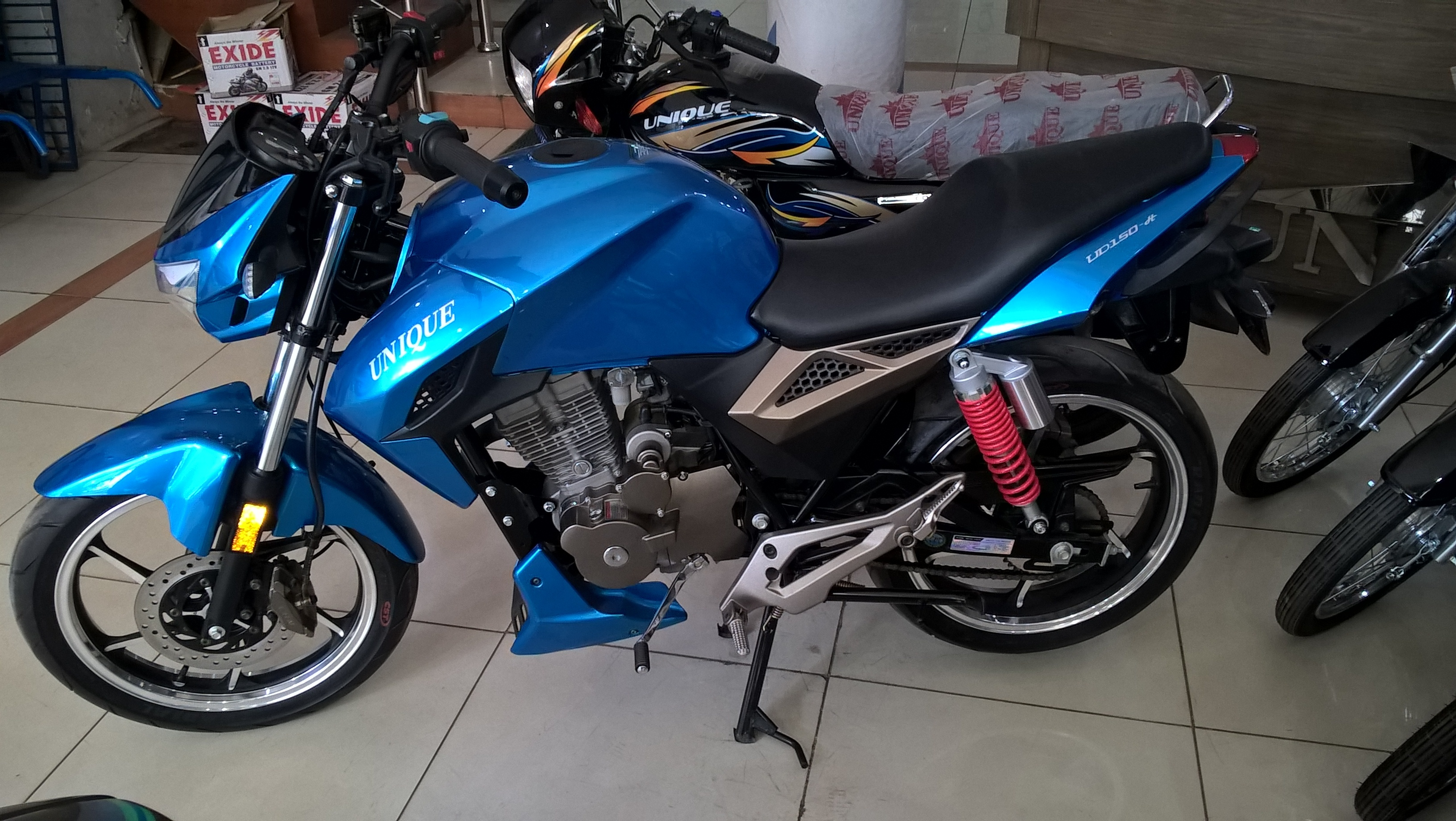 Unique 150cc coming up new model - Other Bike Makers - PakWheels ...