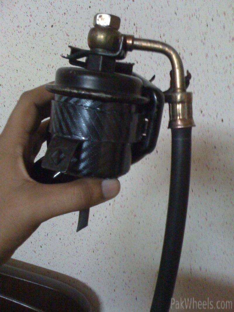 Wtb99 2000 Model Civic Fuel Filter Car Parts Pakwheels Forums A Hmmm Yea Now How Do It Looks After Cleaning N Carbon Fiber