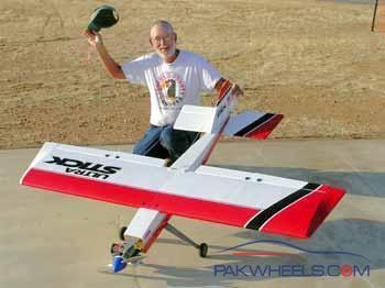23 cc Zenoah petrol engine for remote control airplanes