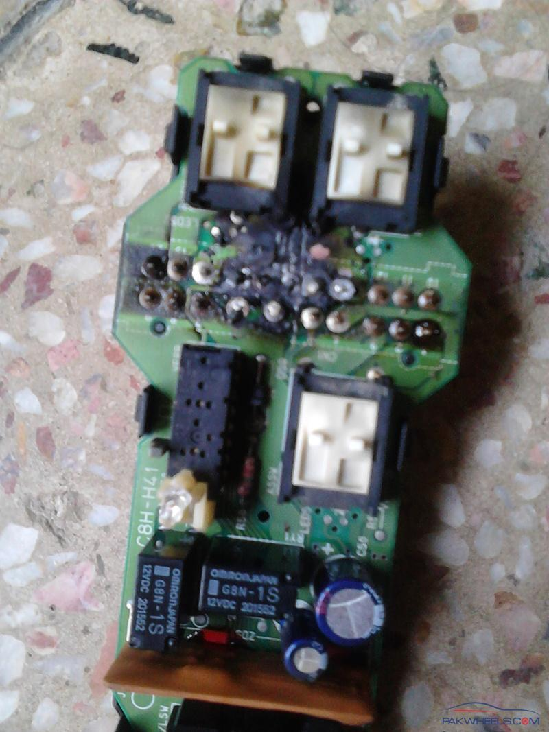 Civic 05 Power Windows Control Unit Almost Caught Fire Honda Wiring Harness Melted Some Pics Are Attached Below