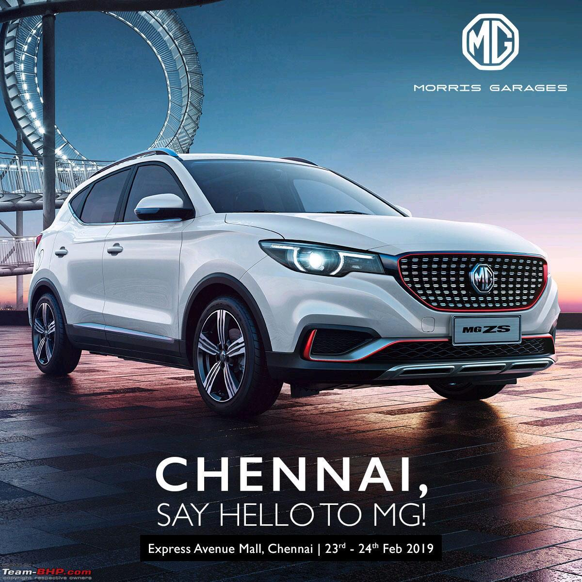 Chinese Owned Mg Morris Garages Debuts In Indian Auto Market In