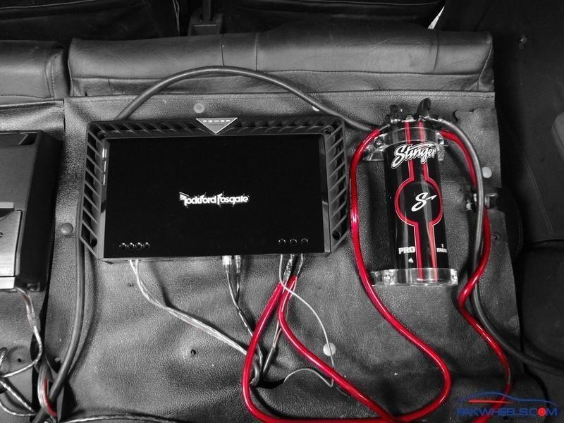 WTS: Stinger pro 1 farad capacitor - Car Parts - PakWheels Forums