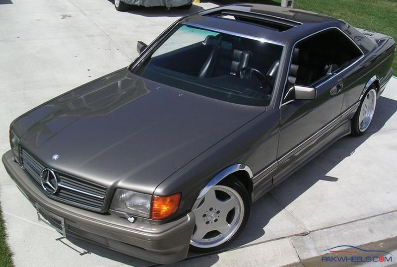 MB 560 sec -1991 - Vintage and Classic Cars - PakWheels Forums