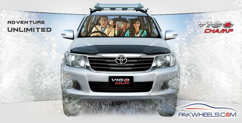 Toyota Hilux Vigo Champ 2013 (Pakistan) Is It Stil