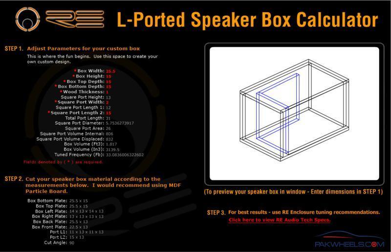 Ported Enclosure Design - In-Car Entertainment (ICE