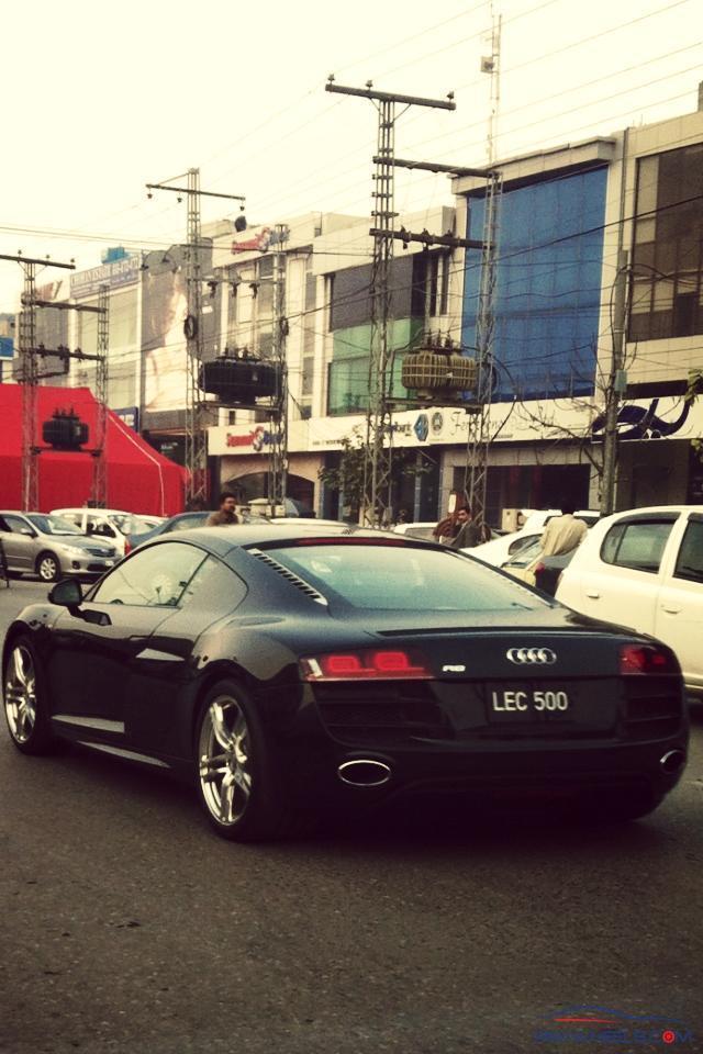 Audi R8 Dha Lahore Spotting Hobbies Other Stuff Pakwheels Forums