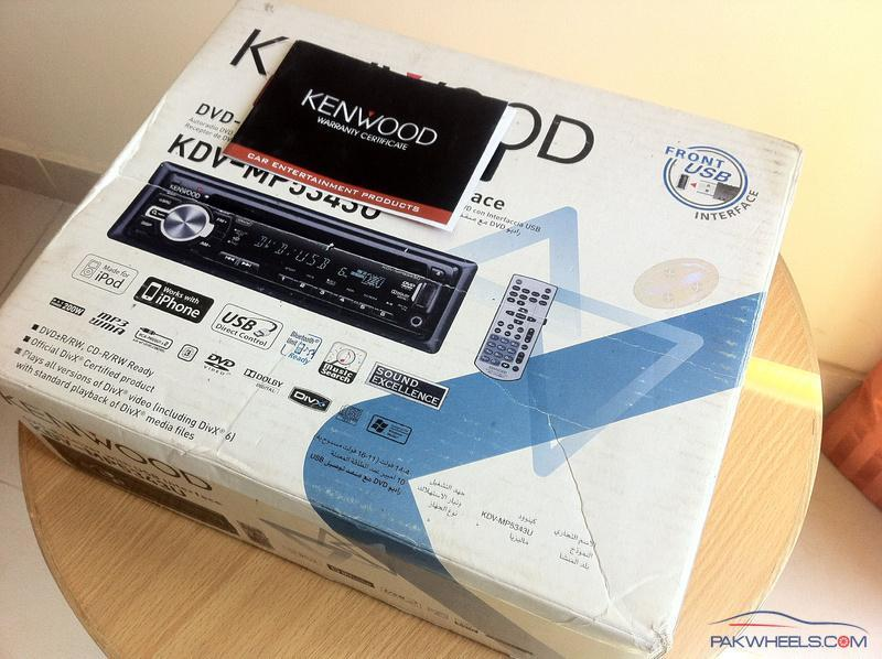 FS: Kenwood DVD Headunit with DSP - Sound Excellence - Car Parts