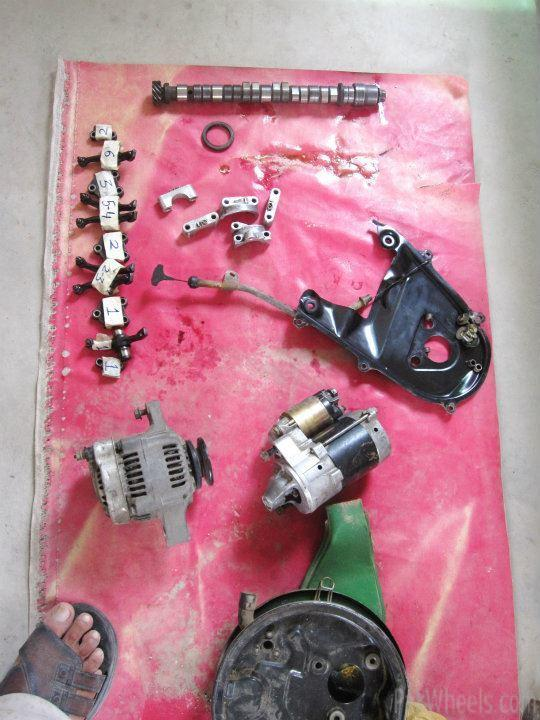 F6a Series 660 cc engine Manual for Sale