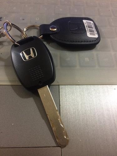 Honda City Immobilizer installed in keychain - Honda
