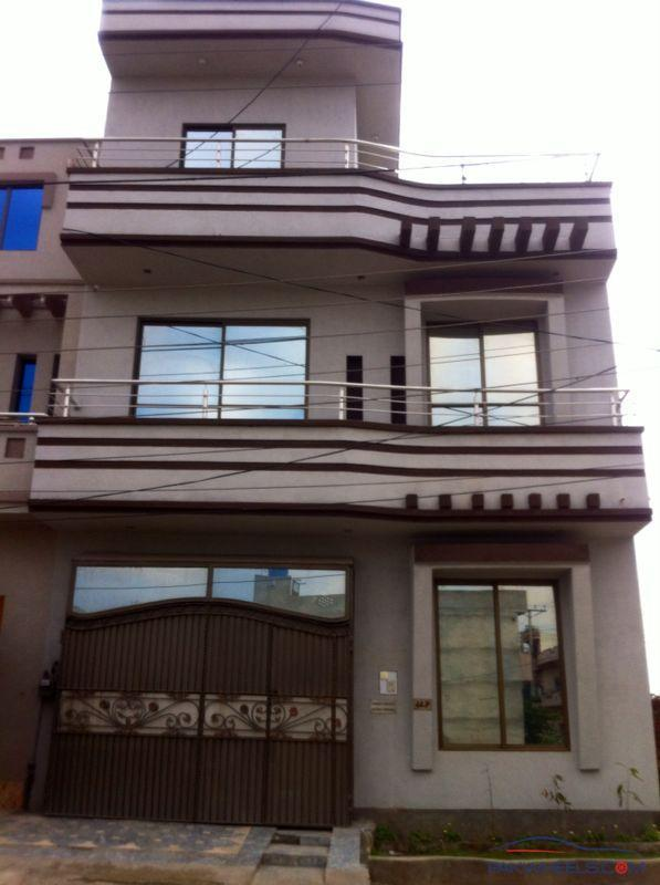 8 Marla Home Front Elevation : P block sabzazar marla house for sale on urgent basis