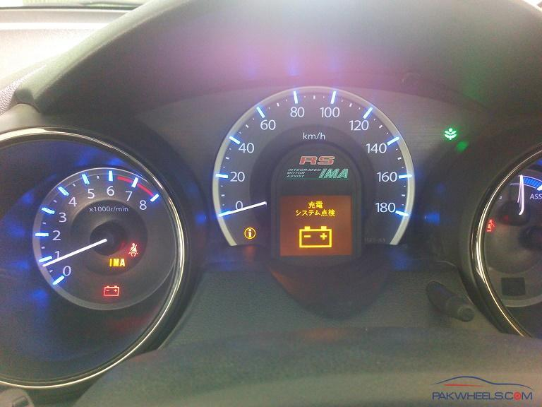Honda Fit Ima Light Issue